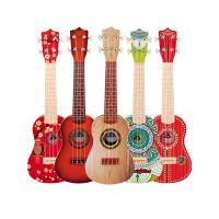 尤克里里初学者儿童小吉他玩具琴仿真可弹奏音乐入门乐器
