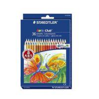 秘密花园 填色 STAEDTLER施德楼 144 10ND36 水溶|彩色铅12色24色36色套装|漫画|涂鸦