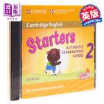【中商原版】剑桥少儿英语第一级2(YLE Starters)英文原版 Cambridge English Young