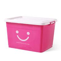透明收纳箱塑料特大号整理箱清仓衣服玩具零食收纳盒有盖储物箱子