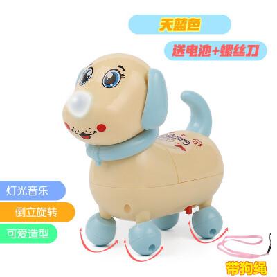电动小狗狗儿童玩具走路会唱歌叫宝宝男女孩玩具6-12个月仿真 会走路会唱歌电动小狗
