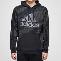 adidas阿迪达斯男子卫衣2018新款套头衫休闲运动服DH9323
