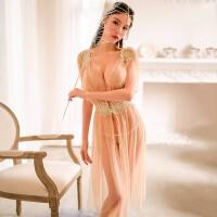性感情趣内衣优雅透视睡衣激情制服长裙套装角色扮演