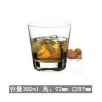 水晶玻璃洋酒杯家用KTV厚底啤酒杯威士忌杯子