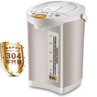 容声 电热水瓶6L大容量不锈钢烧水壶电热水瓶智能恒温家用全自动保温一体 6L大容量/24小时定时预约/断电取水