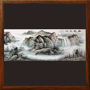 1.8米《祥和之地》李世杰 北京美协会员 一级美术师R3431