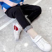 女童牛仔裤春秋2018新款韩版秋装儿童休闲裤子修身中大童洋气长裤
