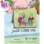 【中商海外直订】Different Just Like Us