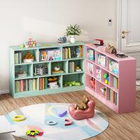 【限时直降】书柜书架落地简约置物柜收纳小柜子自由格子组合柜省空间