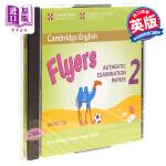 【中商原版】剑桥少儿英语第三级2(YLE Flyers)真题集:CD音频 英文原版 Cambridge English