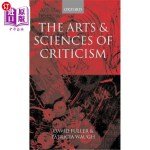 【中商海外直订】The Arts and Sciences of Criticism