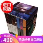 英文原版 物语系列套装 西尾维新 VOFAN戴源亨 轻小说 限量收藏版 Monogatari Series Box S