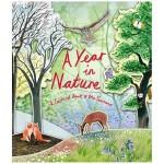 A Year in Nature 自然的一年 旋转木马书 英文原版 适合6岁以上
