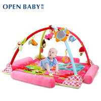 欧培 婴儿音乐游戏毯爬行垫 爬行健身架游戏垫 公主款 送席子+蚊帐