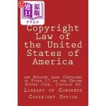 【中商海外直订】Copyright Law of the United States of America: And