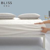 水星出品 百丽丝家纺 可水洗乳胶床笠式床护垫抗菌防螨床护罩 艾咪