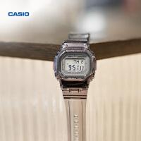 彩色透明系列防水潮流手表卡西欧官网官方正品BABY-G