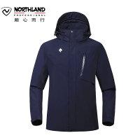 【品牌特惠】诺诗兰户外新品男士防水防风保暖单层冲锋衣GS065901