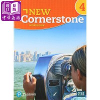 【中商原版】美国ESL综合小学教材New Cornerstone练习册 第4级 英文原版 New Cornerstone, Grade 4 Workbook