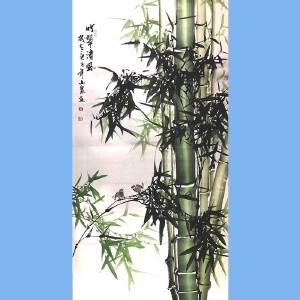 湖南人,擅长画花鸟尤其擅长画竹子,中国书画院理事吕山泉(竹翠清风)2