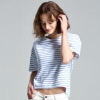 【同款】NORTHLAND/诺诗兰新款女士基础款 休闲百搭短袖T恤GL082262