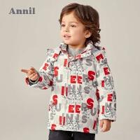 【年��秒��r:135】安奈�和��b男童棉衣中�L款2020冬新款迪士尼����超��w�b保暖外套