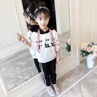女童长袖运动套装秋装2018新款儿童中大童韩版洋气时髦潮衣服