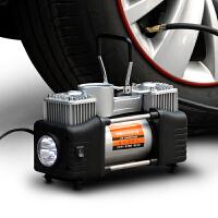 车载双缸充气泵 汽车打气泵 车用12v电动便携式轮胎应急打气筒