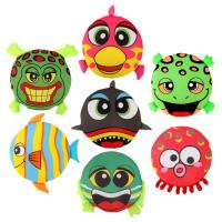 卡通海绵动物布艺飞盘软飞碟益智玩具幼儿园体育游戏户外活动道具AF25679