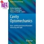 【中商海外直订】Cavity Optomechanics: Nano- And Micromechanical Res