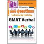 【中商海外直订】McGraw-Hill Education 500 GMAT Verbal Questions to