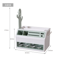 厨房置物架调味料收纳架多功能刀架调料罐筷子盒灶台收纳神器家用