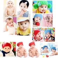 20190309161641139女宝宝图片墙贴画婴儿照片海报孕妇漂亮女孩大眼睛萌娃宝宝画报