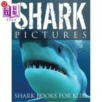 【中商海外直订】Shark Pictures (Shark Books for Kids)