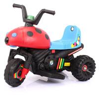 宝宝玩具车电动车甲壳虫儿童电动摩托车三轮车可坐人童车