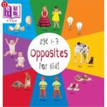 【中商海外直订】Opposites for Kids Age 1-3 (Engage Early Readers: C