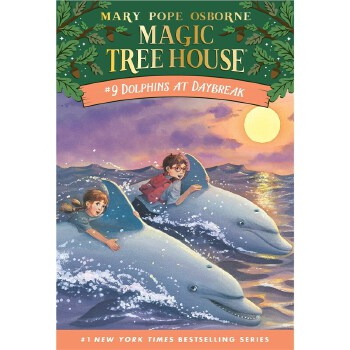 现货 英文原版 神奇树屋  Dolphins at Daybreak (Magic Tree House, No. 9) 9780679883388