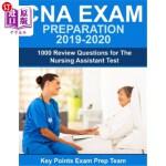 【中商海外直订】CNA Exam Preparation 2019 - 2020: 1000 Review Quest
