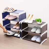 家用大号布艺鞋架多层简易组装收纳架鞋柜防尘宿舍经济加粗鞋架子