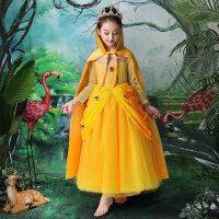 白雪公主裙冰雪奇缘爱莎安娜灰姑娘苏菲亚连衣裙冬圣诞节儿童服装