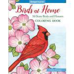 【预订】Birds at Home Coloring Book: 50 State Birds and Flowers