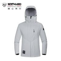 【品牌特惠】诺诗兰新款户外男式软壳衣保暖防风防泼水外套GF075517