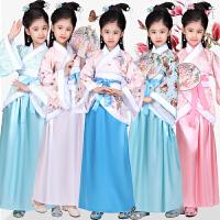 儿童古装仙女公主汉服女童套装古筝演出服古装