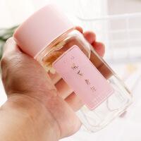 小巧可爱玻璃杯便携迷你水杯韩国随手杯清新女学生杯子150/200ml