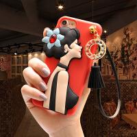 新款流苏女神苹果7plus手机壳6s水钻奢华iphone6plus女款欧美大气苹果8/8p大牌iphone6plus手机壳苹果6s女款个性创意7p韩国潮流红x