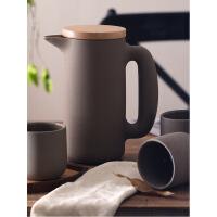 北欧家用杯子套装简约陶瓷杯具客厅水杯套装大容量冷水壶凉水壶