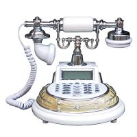 仿古电话座机插线固定家用办公欧式古董复古电话机