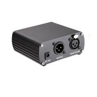 Takstar/得胜 TPM-1 幻象电源 录音麦克风电容话筒48V供电器网络K歌设备