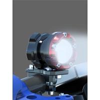 电动摩托车射灯配件鬼火踏板外置车灯CB190强光LED改装辅助灯光