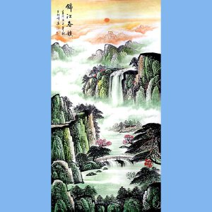 中国美术家协会会员,龙云书画院院长候桂峰(锦江春韵)3